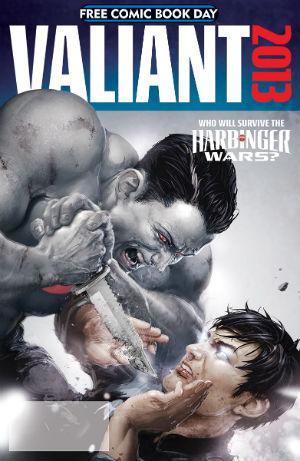 Valiant Comics Harbinger Wars Free Comic Book Day Cover