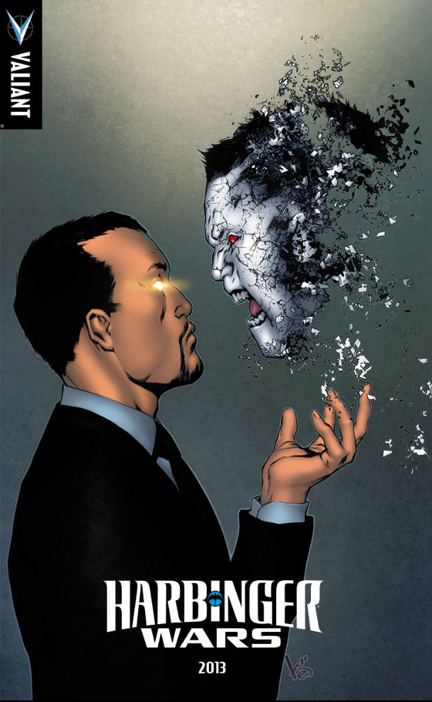 HARBINGER WARS HARADA VS. BLOODSHOT