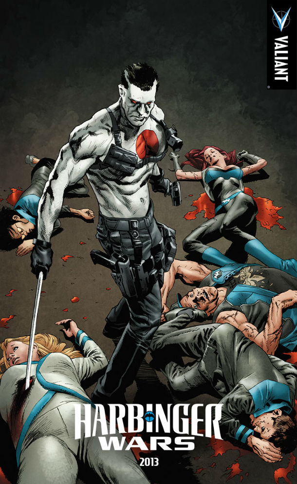 HARBINGER WARS BLOODSHOT VS. RENEGADES