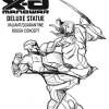X-O Manowar Statue Concept Sketch