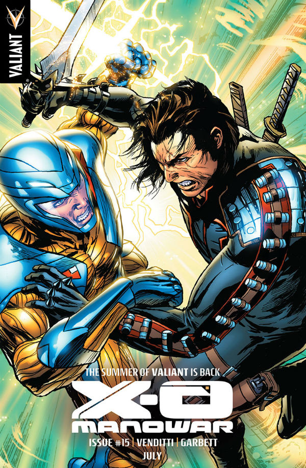 Summer Of Valiant Road To Unity X-O Manowar