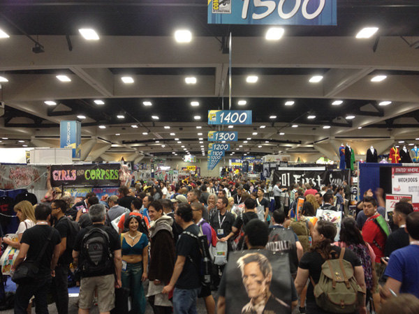 Thursday SDCC Floor