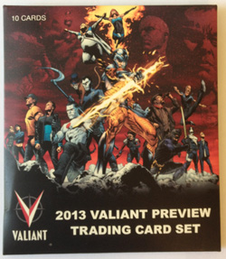 Valiant Trading Card Preview Pack