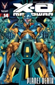 X-O Manowar 14 Lozzi Cover