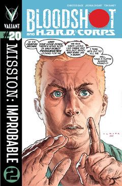 Bloodshot and HARD Corps 20 Cover