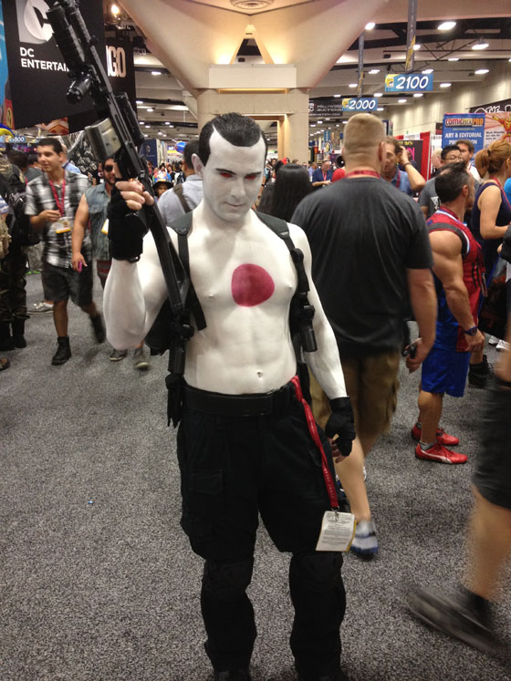 Valiant Superstar Cosplayer Jesse Fresco as Bloodshot