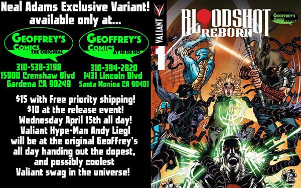 Geoffreys Comics Bloodshot Reborn