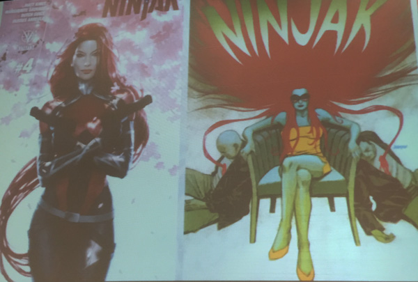 Ninjak #4 Covers