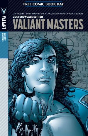 Valiant Comics Free Comic Book Day Modern Masters Cover