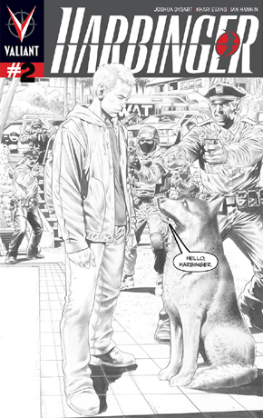 Harbinger #2 Second Printing Cover