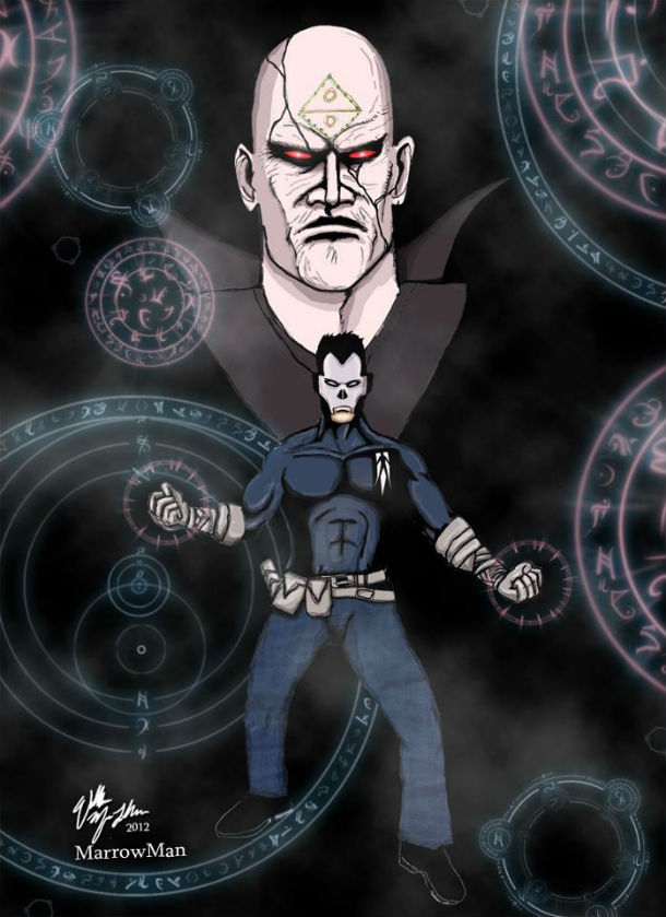 Shadowman Fan Art Friday by MorrowMan