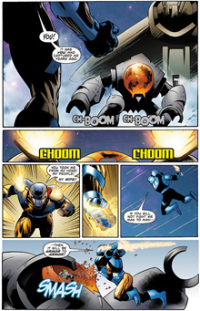 X-O Manowar #3 Preview Page