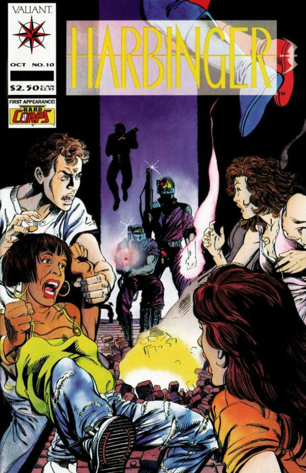 harbinger 10 cover